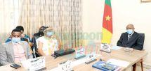 Sally Nyolo et Eko Roosevelt venus présenter leurs projets, ont été reçus par le ministre Bidoung Mkpatt mercredi dernier à Yaoundé.