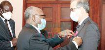 Cameroon-Algeria : Ambassador Elevated To Grand Officer