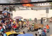 Douala : incendie à la prison de New Bell