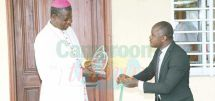 Fight Against The Coronavirus : Arch Bishop Kleda Receives Special Prize