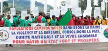 Vivre ensemble, paix et unité nationale : des jeunes au front