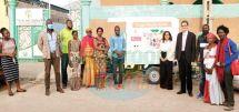 A l'initiative de l'association « Lire au Sahel » et de ses partenaires, des tricycles chargés de livres sillonnent les artères de la ville.