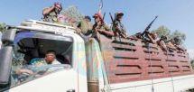 L'armée érythréenne se retirant du Tigré.