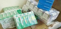 Bonabéri : une tonne de médicaments saisis