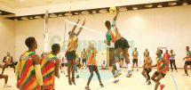 CAN U17 de volleyball  : les cadets s'échauffent