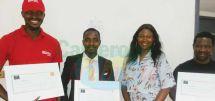 Soutien : trois start-up primées par la diaspora