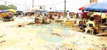 Assainissement : le marché de Nyalla bientôt délocalisé