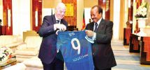 Cameroon-FIFA : Growing Mutually Beneficial Cooperation