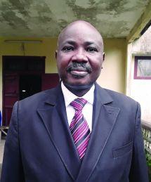 Fonju Njukang Bernard, South West Regional Coordinator of NDDRC Centre.