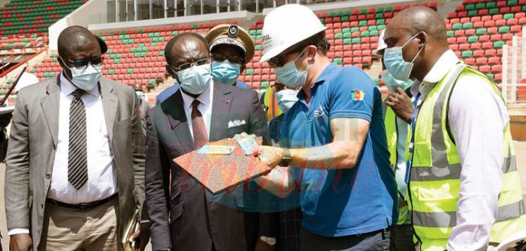 AFCON 2021 : Olembe Stadium Undergoing Finishing Touches