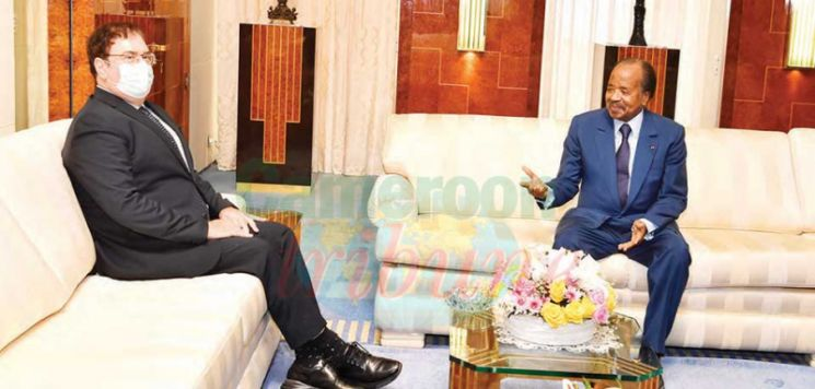 President Paul Biya on Friday September 24, 2021 granted a farewell audience to Marco Romiti who has come to the end of his diplomatic stay in Cameroon.