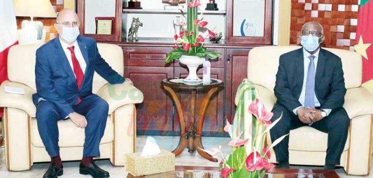 Diplomatie : l'ambassadeur d'Italie est là