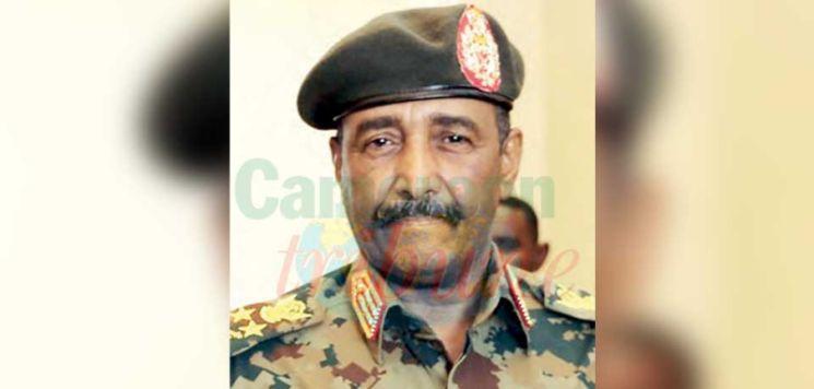 Le général Abdel Fattah al-Burhane, nouvel homme fort du Soudan.