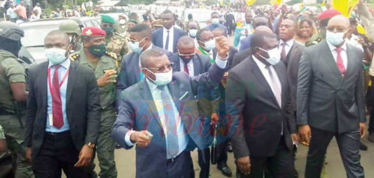 Normalcy In NW/SW : PM On Working Visit In Buea