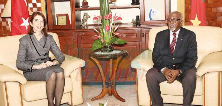Cameroon-Turkey : Outgoing Ambassador Bids Farewell