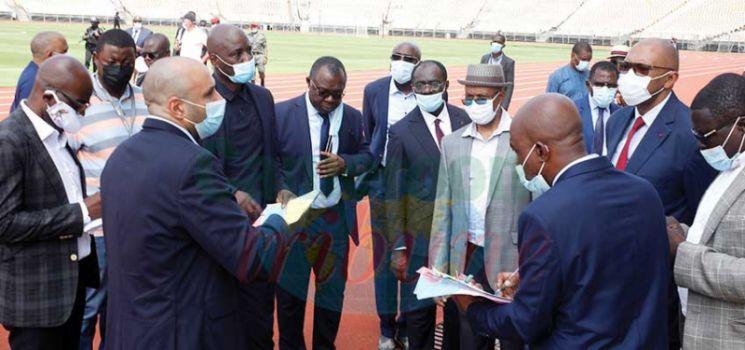 CHAN 2020  : de nouveaux sites inspectés à Yaoundé