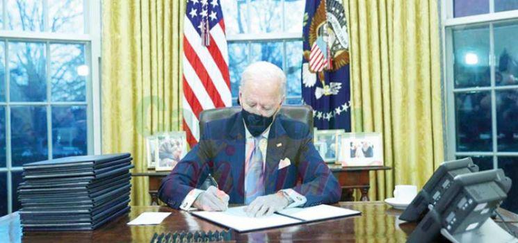 Joe Biden veut marquer les esprits dès le début.