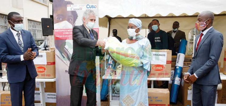 Fabrication de kits de protection  : le Canada aux côtés du Cameroun