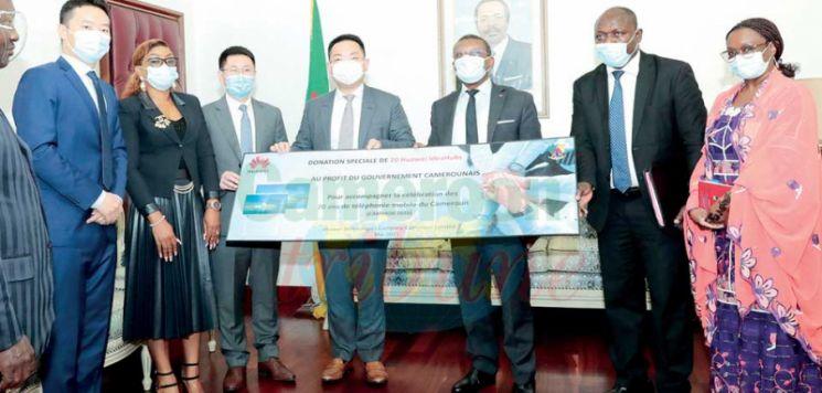 Promotion des TIC au Cameroun : le soutien réaffirmé de Huawei