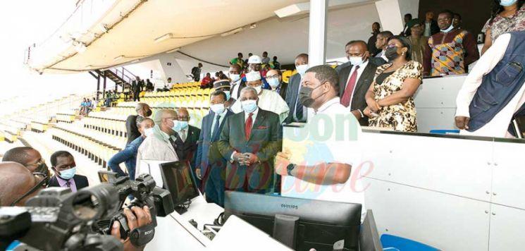 CAN Cameroun 2021 : le Mincom en tournée