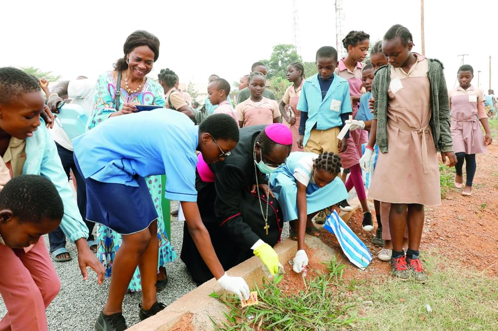 Religion and Hygiene : Archbishop Launches Sanitary Campaign