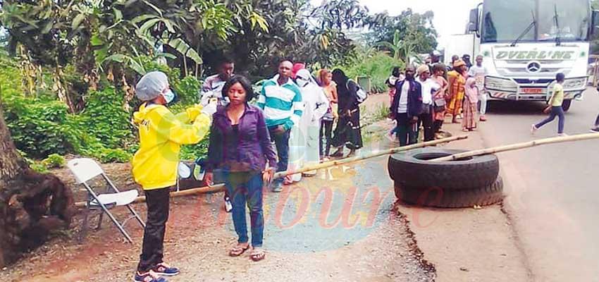 Bertoua : les passagers d'un bus en quarantaine