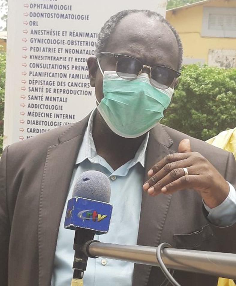 Dr Gérard Fetse Tama, directeur de l'Hôpital régional de Maroua.