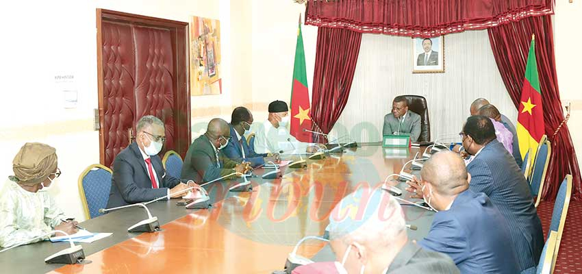 Cameroon-Nigeria Mixed Commission : Chairperson Presents Progress Report