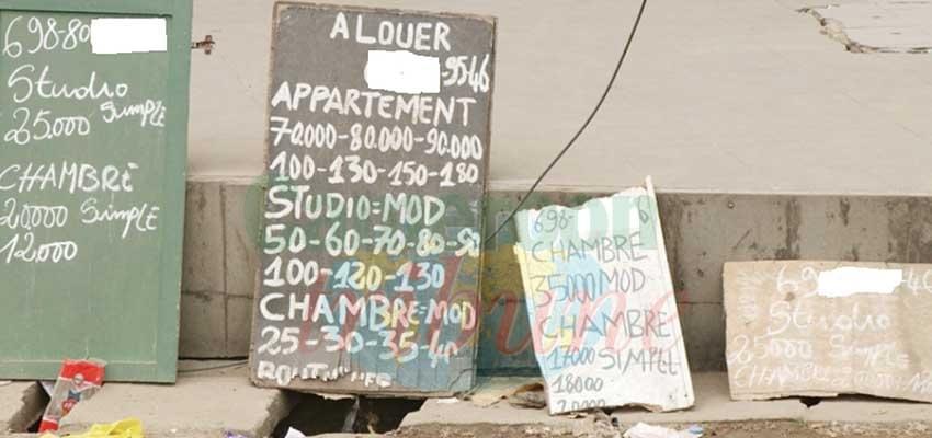 Agents immobiliers: place au recasement des clandestins