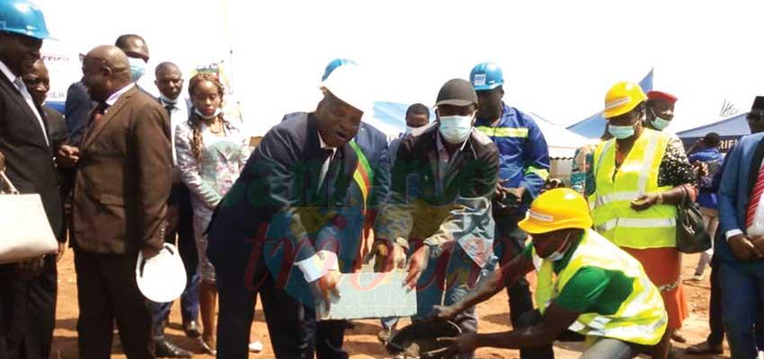 Aménagement des communes : de l'eau potable à Nkoteng