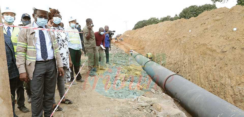 Projet d'alimentation en eau potable de Yaoundé : évolution appréciable