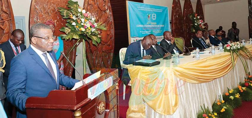 Prime Minister Chief Joseph Dion Ngute chaired the opening ceremony of the session.