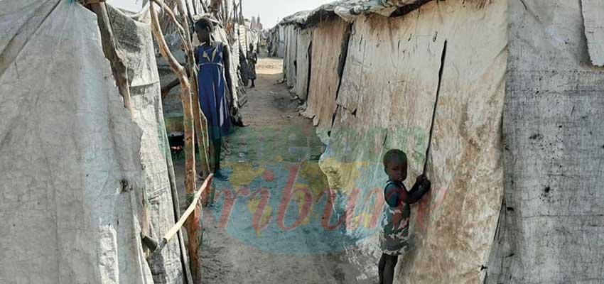Un camp de refugiés au Soudan du Sud.