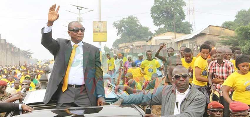 Guinée : Alpha Condé réélu