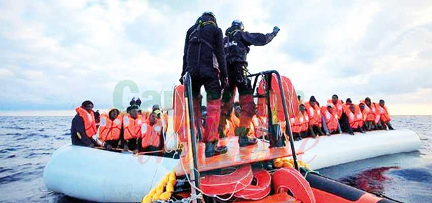 Libye : 45 migrants tués dans un naufrage