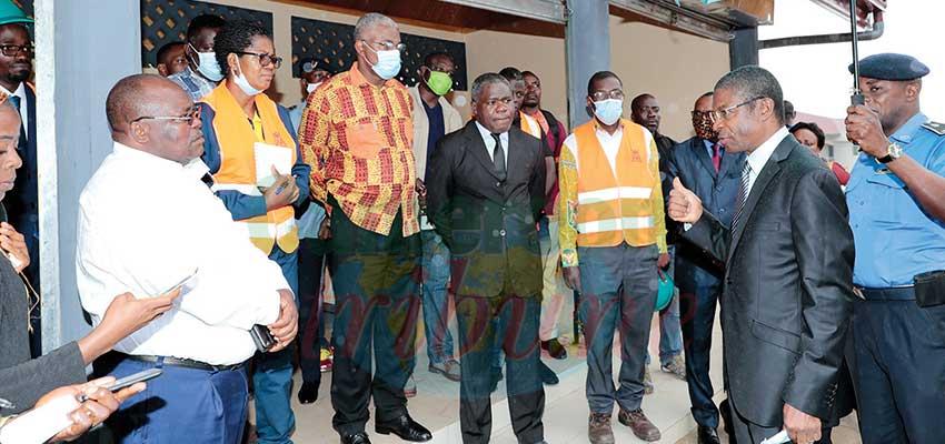 Yaoundé :  le maire de la ville sur les chantiers