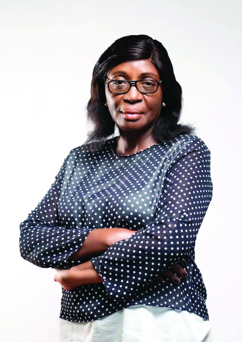 Thérèse Pauline Manguele, secrétaire général de la Ligue de football féminin du Cameroun.