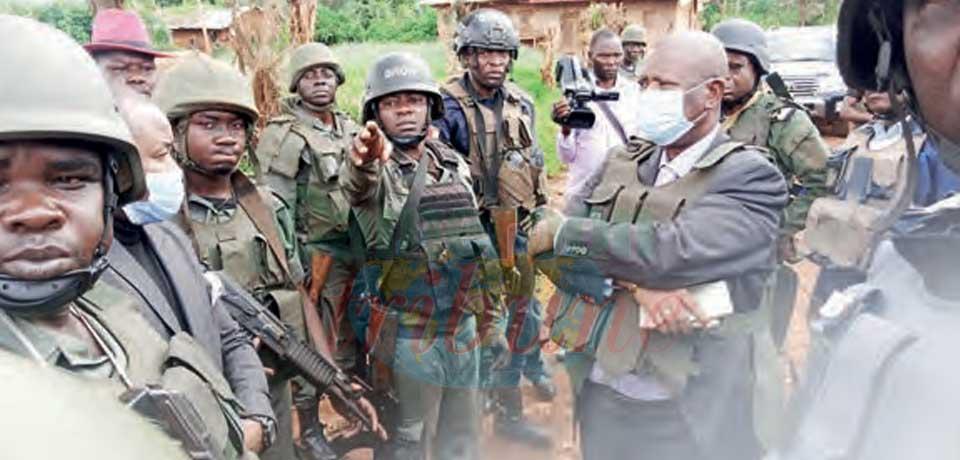 Attaque sécessionniste à Babadjou : le gouverneur réconforte les troupes