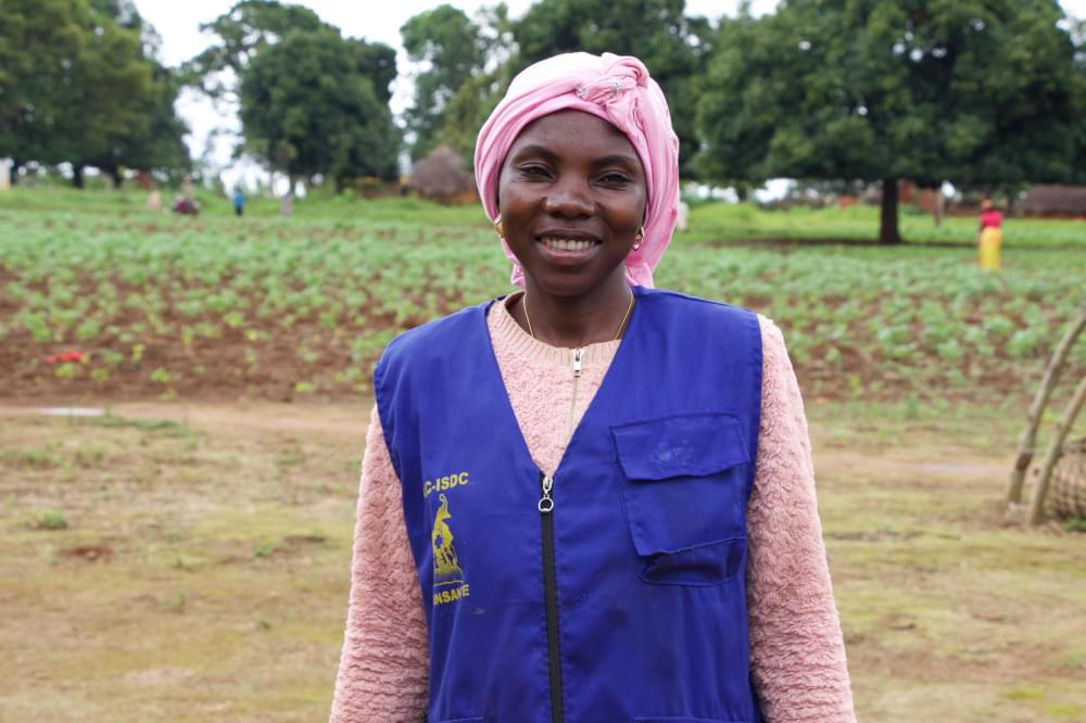 Lonkaou Charlotte is today is in charge of more than 30 women in her Tello neighbourhood.