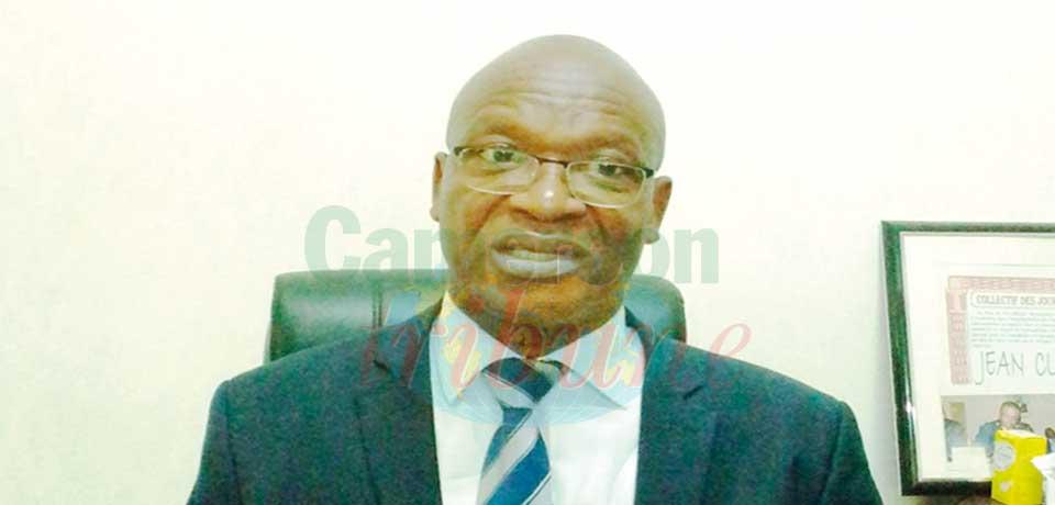 Jean Claude Konde, délégué régional du Minader pour le Littoral.