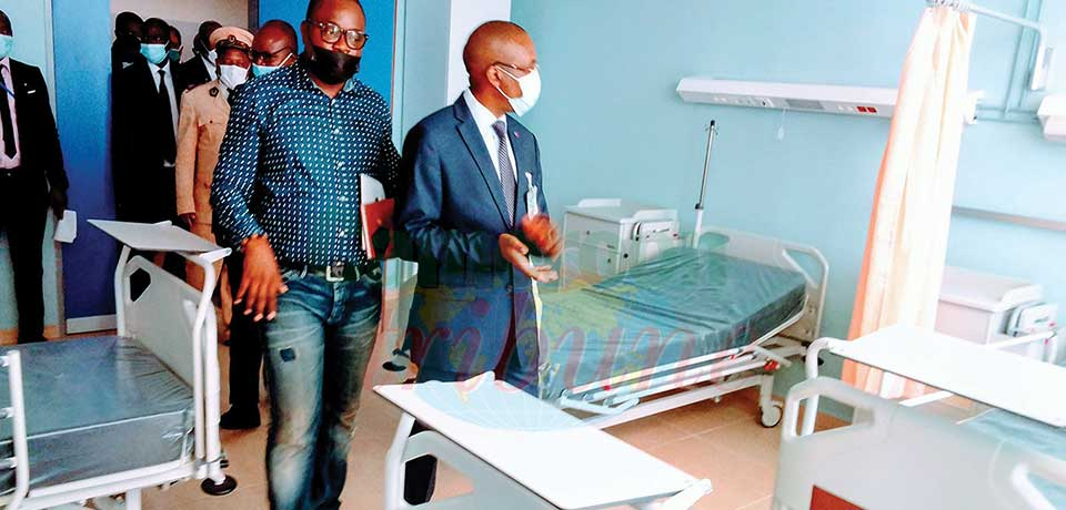 Centre hospitalier régional d'Ebolowa : probable inauguration en fin juin