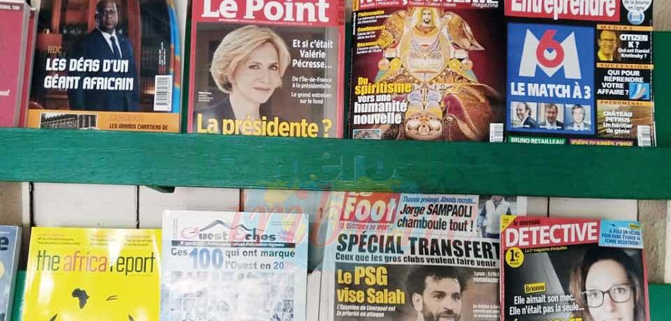 Distribution des journaux : retour de la presse internationale