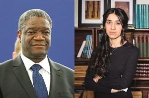 Prix Nobel de la paix 2018: Denis Mukwege et Nadia Murad honorés