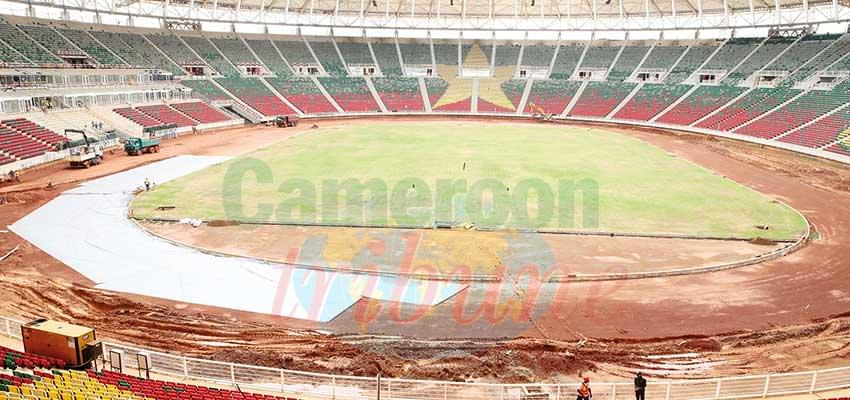 Olembe Stadium : Construction Work In Progess