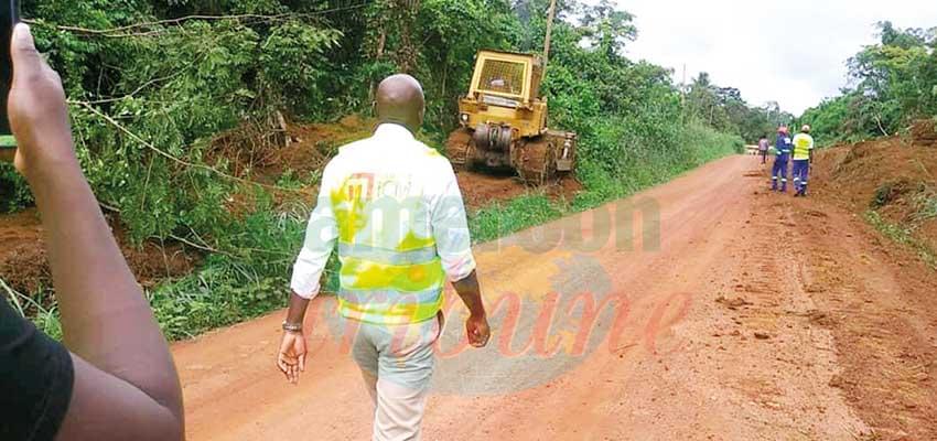 Route Ebolowa-Akom II-Kribi : les travaux lancés