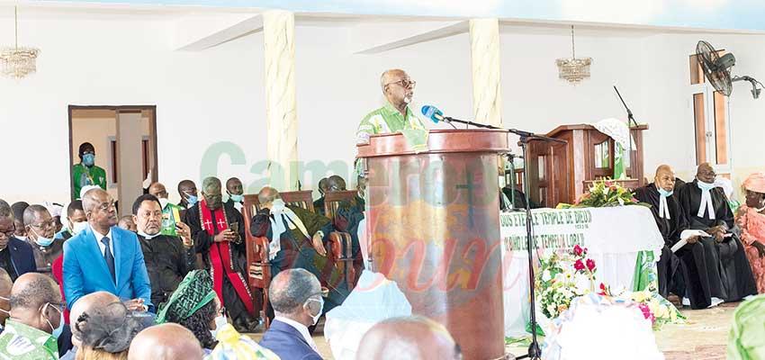 Eglise évangélique du Cameroun  : voici la Chapelle de l'espérance