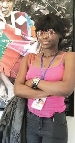 Malyka Andréa Kakaye rayonne au Fiff Cotonou 2019.