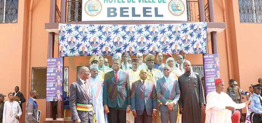 Belel: l'Hôtel de ville inauguré