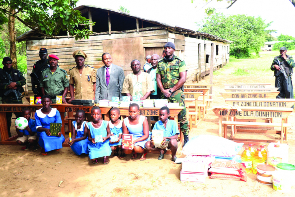 Douala VI : le Bir appuie deux écoles
