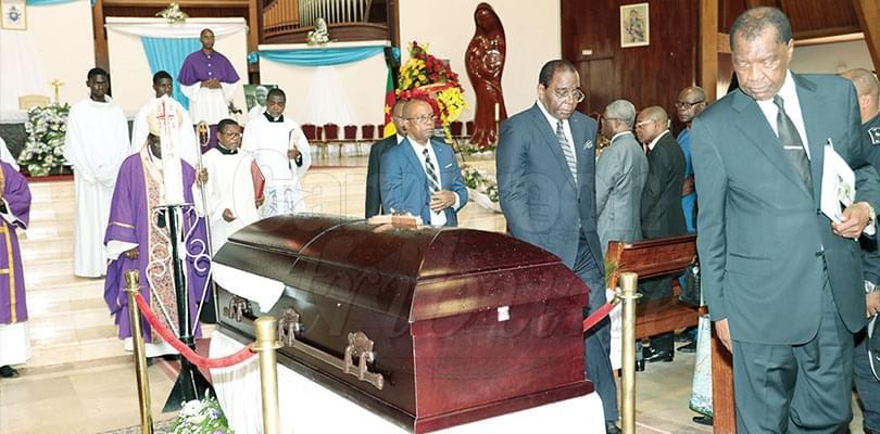 Nécrologie: Mgr Dieudonné Bogmis, en route pour l'éternité